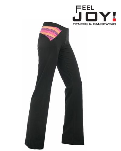 c09de9736c60 Feel JOY! Dámské Fitness Nohavice Bumblebee - Čierna - 1131