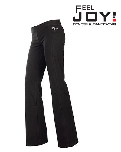 Fitness/DanceFitness & Zumba Dámska kolekcia Nohavice  Feel JOY! Dámské Nohavice Dlhé Soul - Čierna