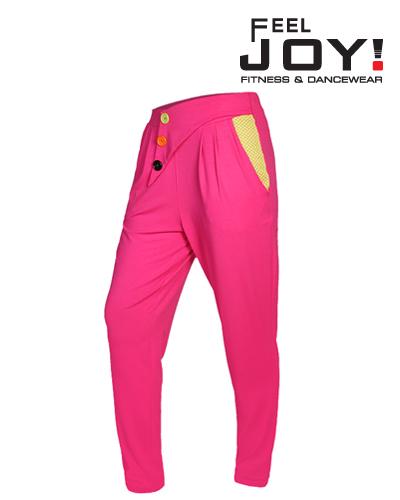 Fitness/DanceFitness & Zumba Dámska kolekcia Nohavice  Feel JOY! Dámske Nohavice Awesome - Ružová