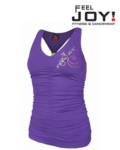 Fitness/DanceFitness & Zumba Dámska kolekcia Topy  Feel JOY! Tanečný Top Funky - fialová