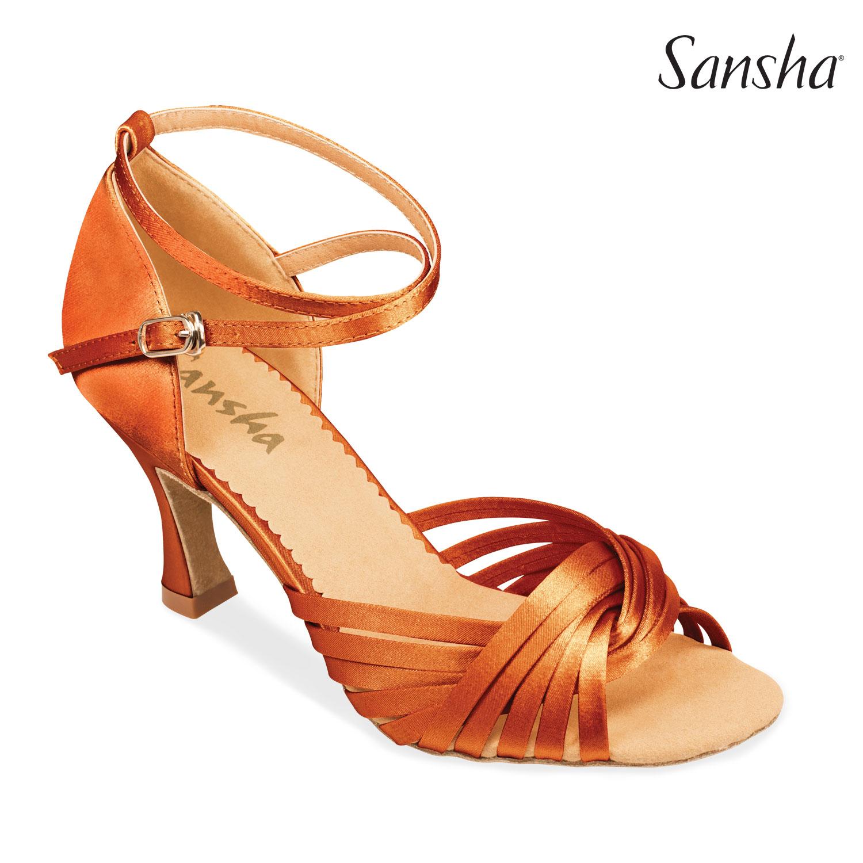 e2adec41ef29 image loader Tanečné topánky Dospelí Spoločenkárska obuv (LATINO) Sansha  ASHLEY