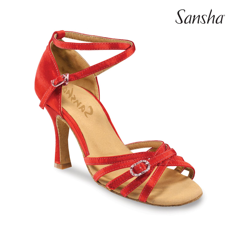 4fdbd9951e3c image loader Tanečné topánky Dospelí Spoločenkárska obuv (LATINO) Sansha  ADRIANA