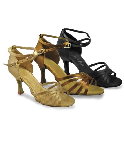 9c87495dd042 image loader Tanečné topánky Dospelí Spoločenkárska obuv (LATINO) Sansha  Regina