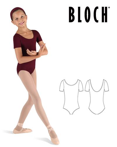 Tanečné oblečenie Deti Baletné oblečenie Dresy BLOCH BALLET