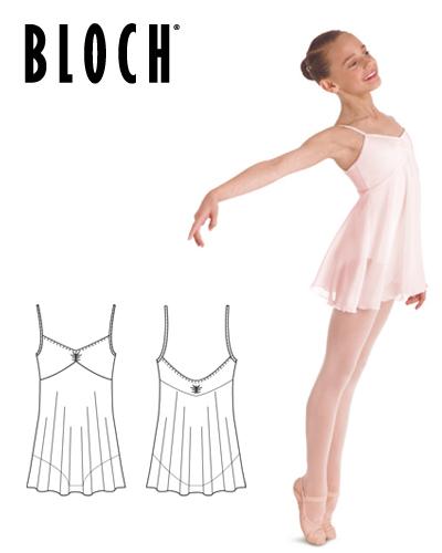 Tanečné oblečenie Deti Baletné oblečenie Dresy so sukňou BLOCH JULIET