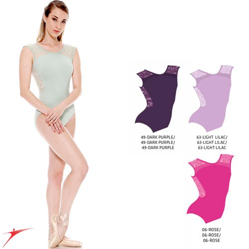 Tanečné oblečenie Dámska kolekcia Baletné oblečenie Dresy SoDanca Dres s čipkou