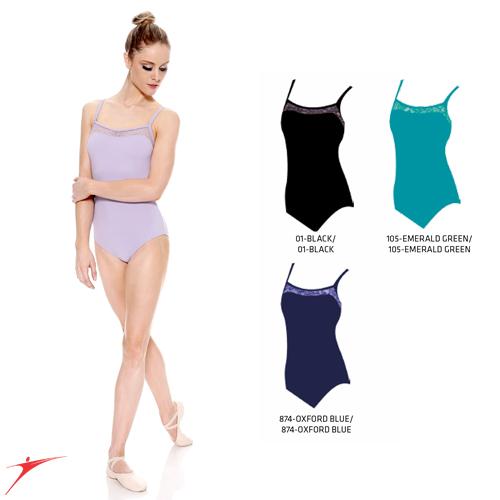 Tanečné oblečenie Dámska kolekcia Baletné oblečenie Dresy SoDanca Dres na ramienka s čipkou