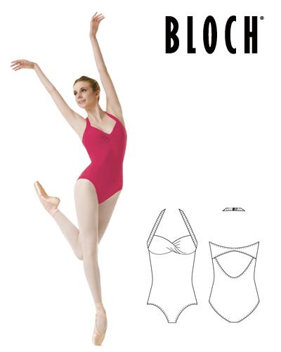 Tanečné oblečenie Dospelí Baletné oblečenie Dresy BLOCH CINNAMON