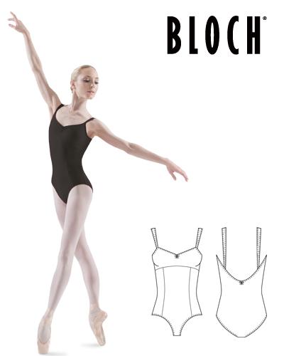 Tanečné oblečenie Dospelí Baletné oblečenie Dresy BLOCH PARADISE