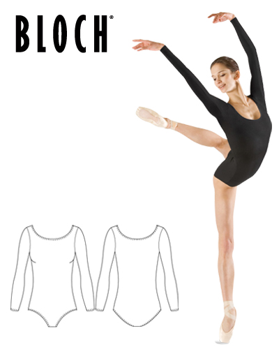 Tanečné oblečenie Dospelí Baletné oblečenie Dresy BLOCH PREMIER