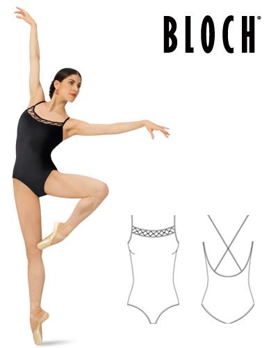 Tanečné oblečenie Dospelí Baletné oblečenie Dresy BLOCH LOULANA