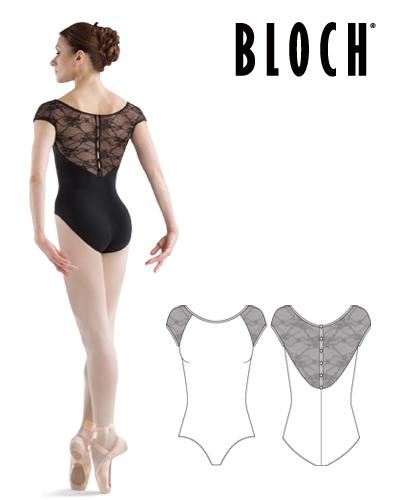 Tanečné oblečenie Dospelí Baletné oblečenie Dresy BLOCH CHIWA