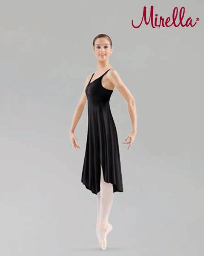 Tanečné oblečenie Dospelí Baletné oblečenie  MIRELLA ASYMMETRICAL HEM TANK DRESS