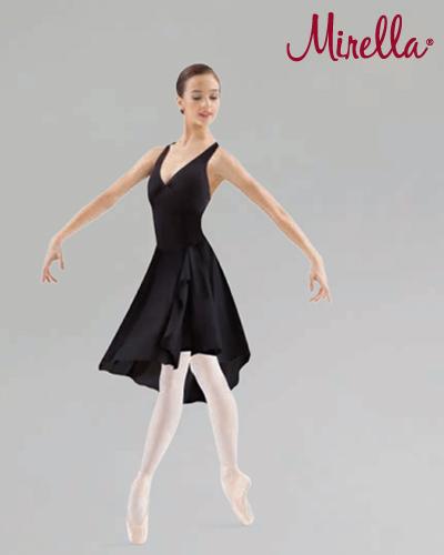 Tanečné oblečenie Dospelí Baletné oblečenie  MIRELLA ASYMMETRICAL HEM PRINCESS SEAM HALTER DRESS