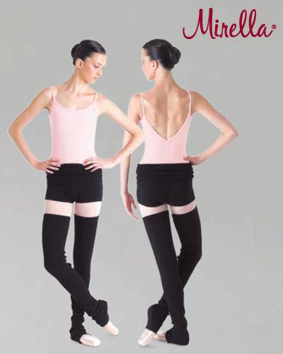 Tanečné oblečenie Dospelí Baletné oblečenie  MIRELLA ROLL OVER SHORTS