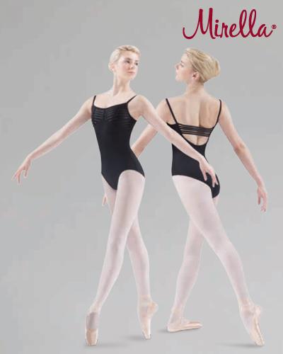 Tanečné oblečenie Dospelí Baletné oblečenie  MIRELLA ELASTIC BUST DETAIL CAMISOLE LEOTARD