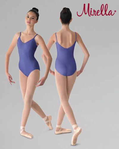 Tanečné oblečenie Dospelí Baletné oblečenie  MIRELLA SEAMED CAMISOLE LEOTARD