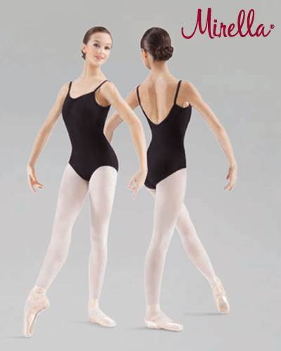 Tanečné oblečenie Dospelí Baletné oblečenie  MIRELLA PINCH FRONT SEAMED CAMISOLE LEOTARD