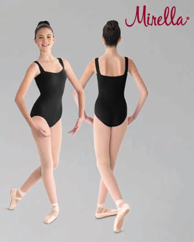 Tanečné oblečenie Dospelí Baletné oblečenie  MIRELLA WIDE STRAP CAMISOLE LEOTARD