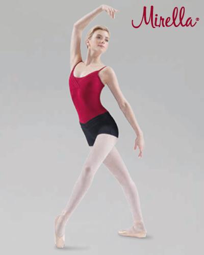 Tanečné oblečenie Dospelí Baletné oblečenie  MIRELLA CHEVRON BAND SHORTS