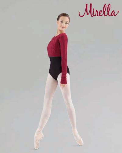 Tanečné oblečenie Dospelí Baletné oblečenie  MIRELLA CABLE KNIT CROP KNIT JUMPER