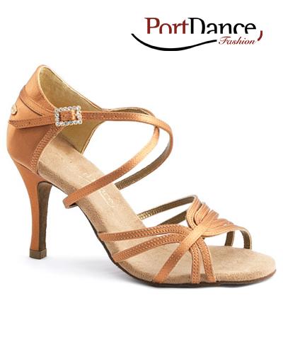 095fe56c49 image loader Tanečné topánky Dospelí Spoločenkárska obuv (LATINO) PORTDANCE  PD410S