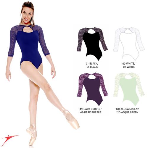 Tanečné oblečenie Dámska kolekcia Baletné oblečenie Dresy SoDanca Dres s 3/4 rukávmi