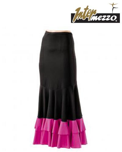 Tanečné oblečenie Deti Flamenco oblečenie  INTERMEZZO FALDOSTAM